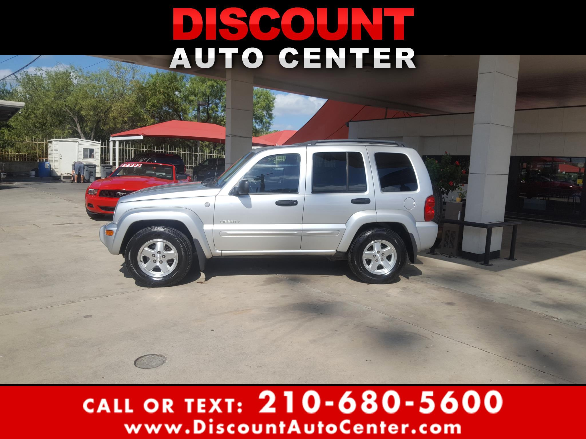 2004 Jeep Liberty 4dr Limited 4WD