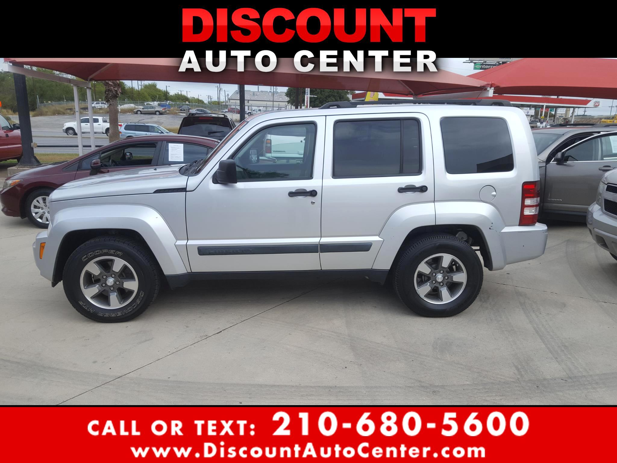 Jeep Liberty RWD 4dr Sport 2008