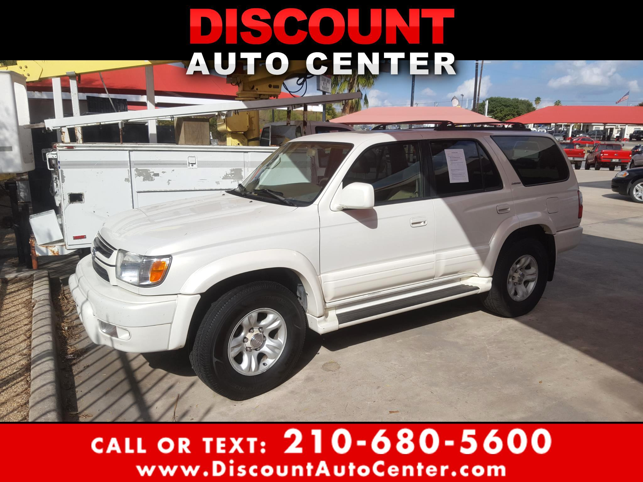 Toyota 4Runner 4dr Limited 3.4L Auto (Natl) 2002