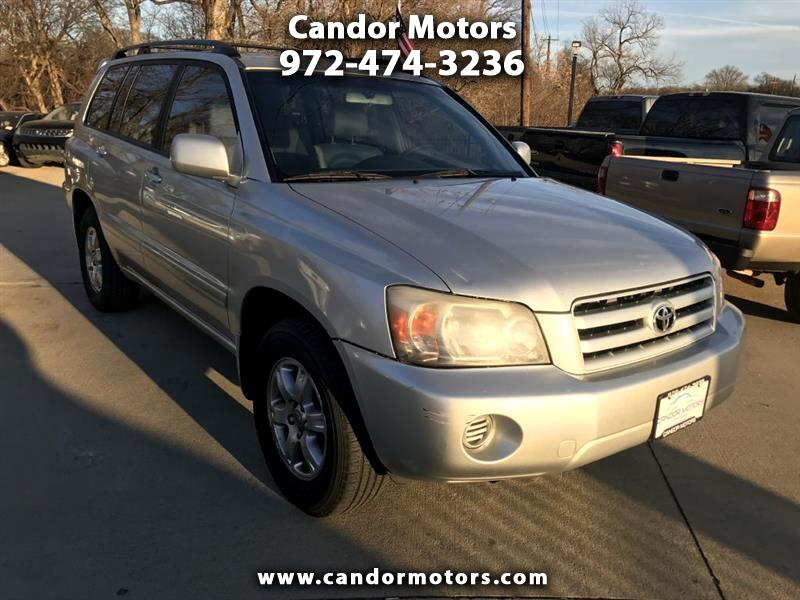 2006 Toyota Highlander Limited V6 2WD