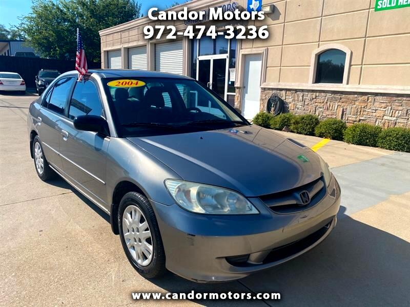 Honda Civic LX Sedan AT with Front Side Airbags 2004