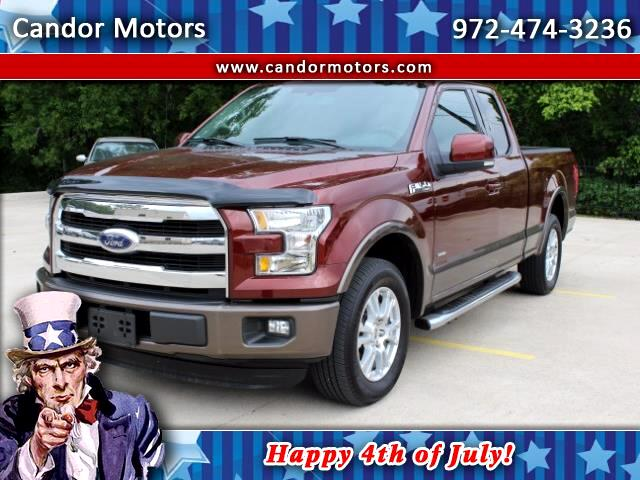 2016 Ford F-150 Lariat SuperCab 2WD