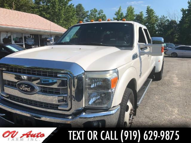 2011 Ford F-350 SD King Ranch Crew Cab Long Bed DRW 2WD