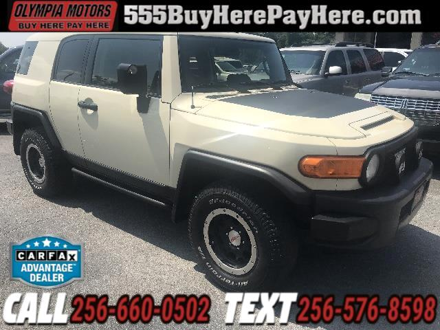 2010 Toyota FJ Cruiser 4WD AT