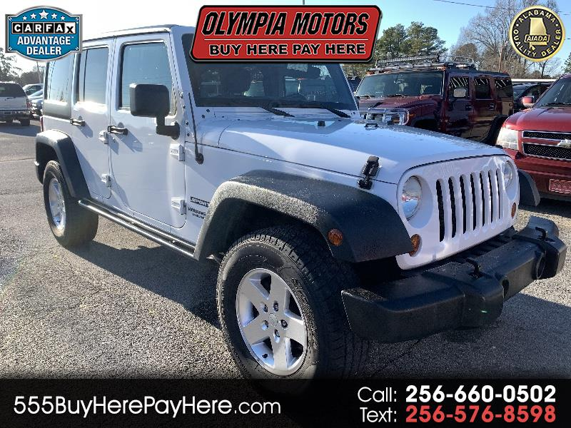 Jeep Wrangler Unlimited Sport 4WD 2011