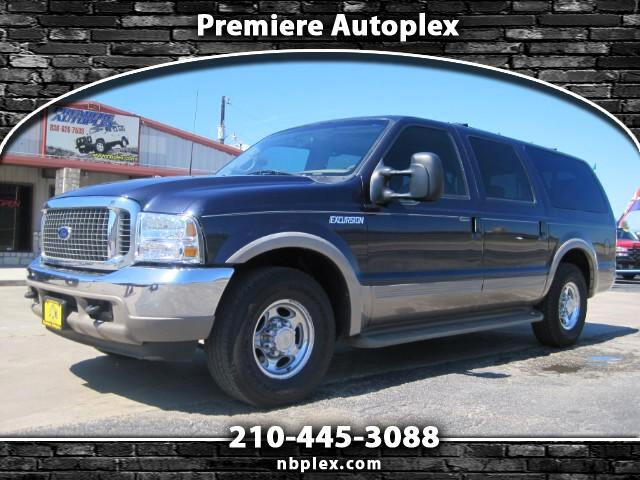 2000 Ford Excursion Limited 2WD Loaded Leather 7.3L Powerstroke Diesel