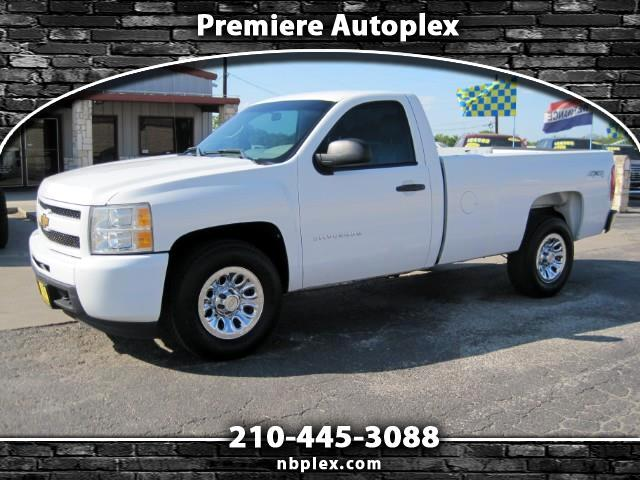 2012 Chevrolet Silverado 1500 Regular Cab LWB 4x4 5.3L V-8 Long Bed 1 Owner