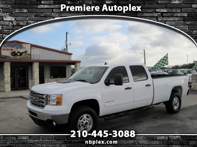 2012 GMC Sierra 2500HD Crew Cab 4x4 6.6L Duramax Turbo Diesel Leather LWB