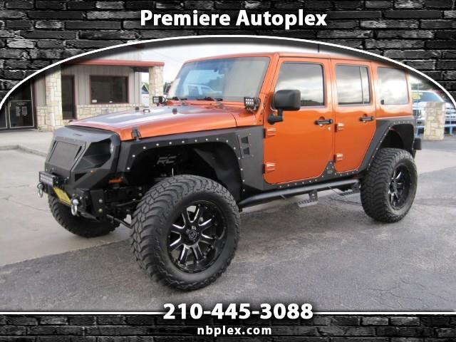 2011 Jeep Wrangler Unlimited Sahara 4x4 Lifted Leather Automatic New