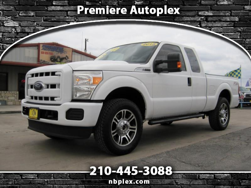 2015 Ford F-250 SD SuperCab 4x4 6.2L V-8 Short Bed Automatic 2.5
