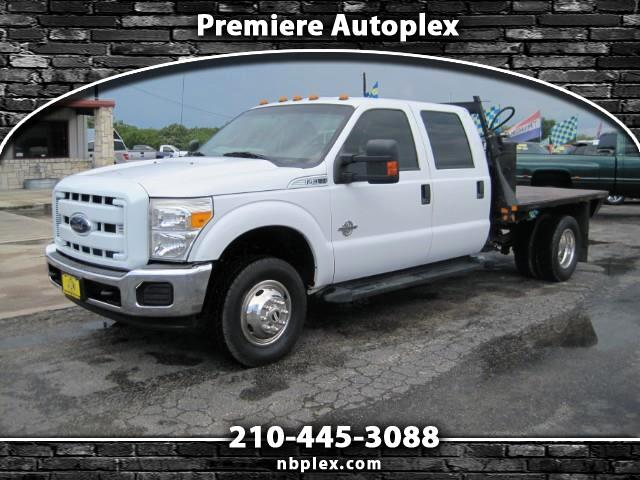 2015 Ford F-350 SD Crew Cab 4x4 Dually Flatbed 6.7L Powerstroke Turbo