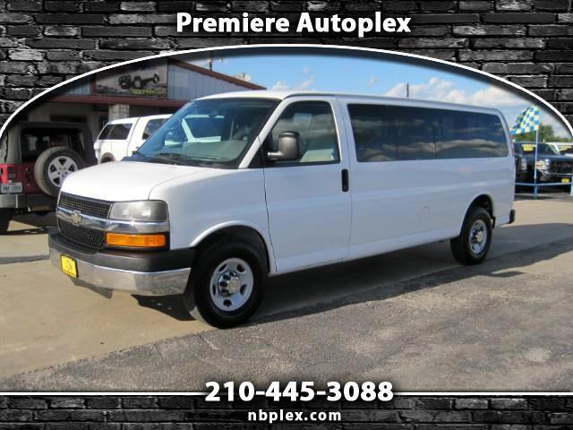 2013 Chevrolet Express LT 3500 Extended 15 Passenger Van Clean 1 Owner 73