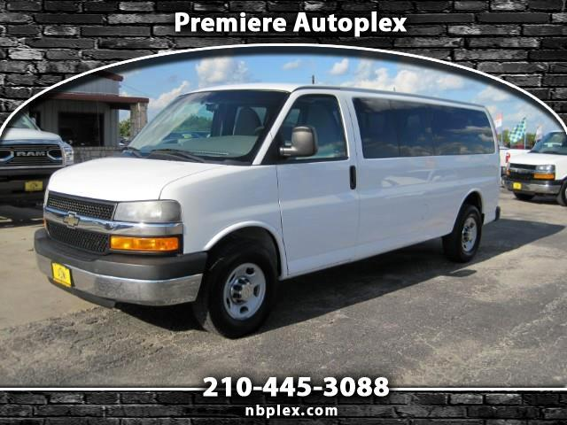 2013 Chevrolet Express LT 3500 Extended 15 Passenger Van 4.8L V-8 Nice Cl