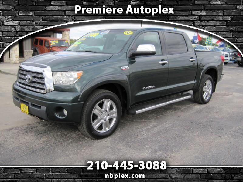 2008 Toyota Tundra Limited CrewMax 5.7L 4x4 Loaded Navigation Sunroof