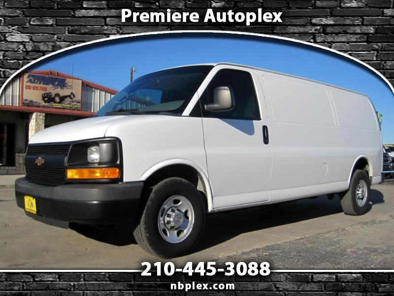 2013 Chevrolet Express 3500 Extended Cargo Van 1 Owner Super Clean Like N