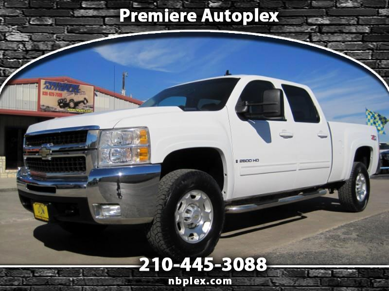 2009 Chevrolet Silverado 2500HD LTZ Crew CabSWB 4x4 Leather Nice 1 Owner 6.0L V-8