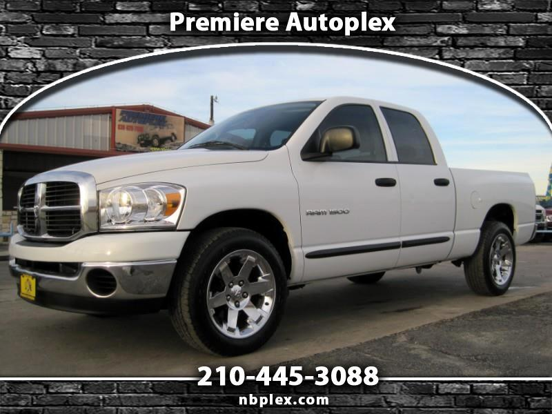 2006 Dodge Ram 1500 Quad Cab Short Bed 2WD 4.7L V-8 Automatic