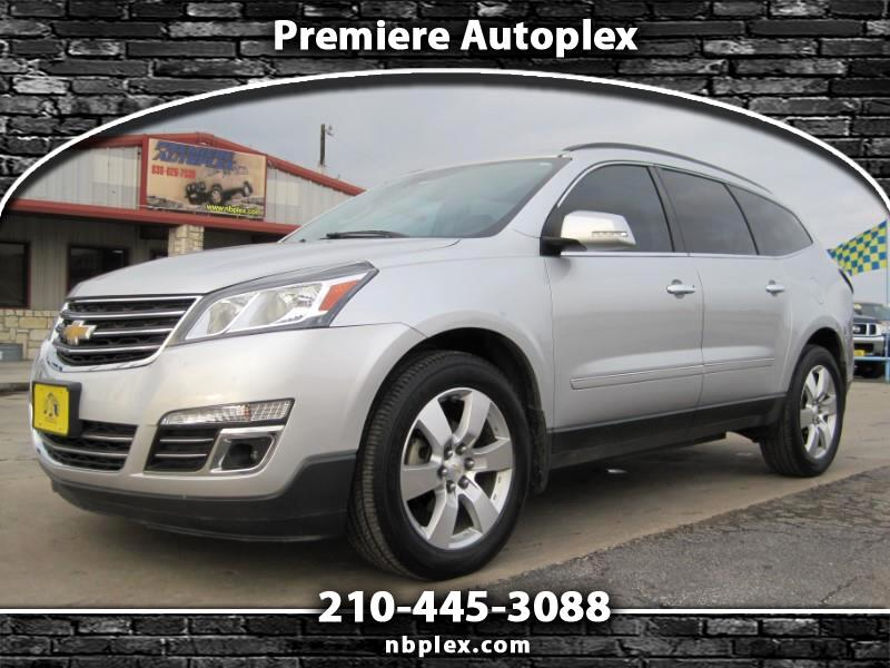 2014 Chevrolet Traverse LTZ FWD Loaded Navigation Sunroof DVD Drivers Aler