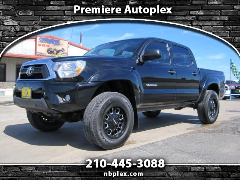 2015 Toyota Tacoma PreRunner Double Cab 2WD 4 Cyl Lifted Mayhem Alloy