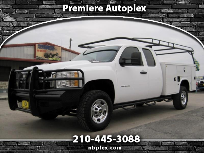 2012 Chevrolet Silverado 2500HD Ext Cab Utility Bed Truck 6.6L Duramax Nice Work T