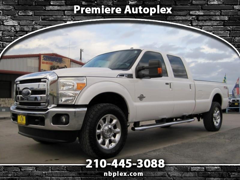"2013 Ford F-350 SD Lariat Crew Cab 4WD LWB SRW 20's 35"" Toyo A/T's 6."