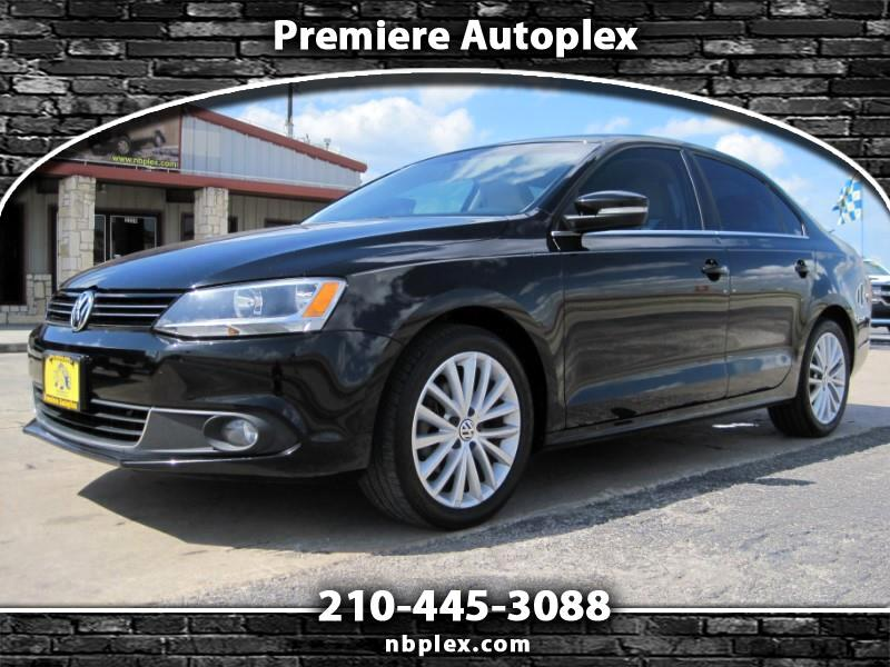 2013 Volkswagen Jetta TDI Sedan Loaded Leather Navigation Sunroof Super