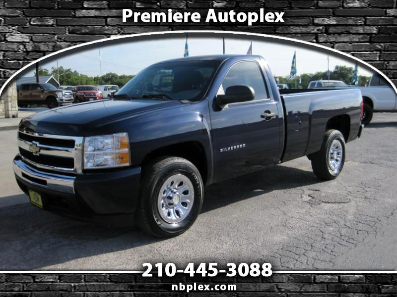 2010 Chevrolet Silverado 1500 Reg Cab 2WD 4.3L V-6 Long Bed Low Miles 1 Owner