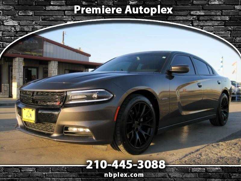 2015 Dodge Charger R/T 5.7L Hemi V-8 Loaded Leather Nav Sunroof Backu