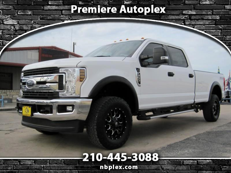 Ford F-350 SD XLT Crew Cab Long Bed 4WD 2018