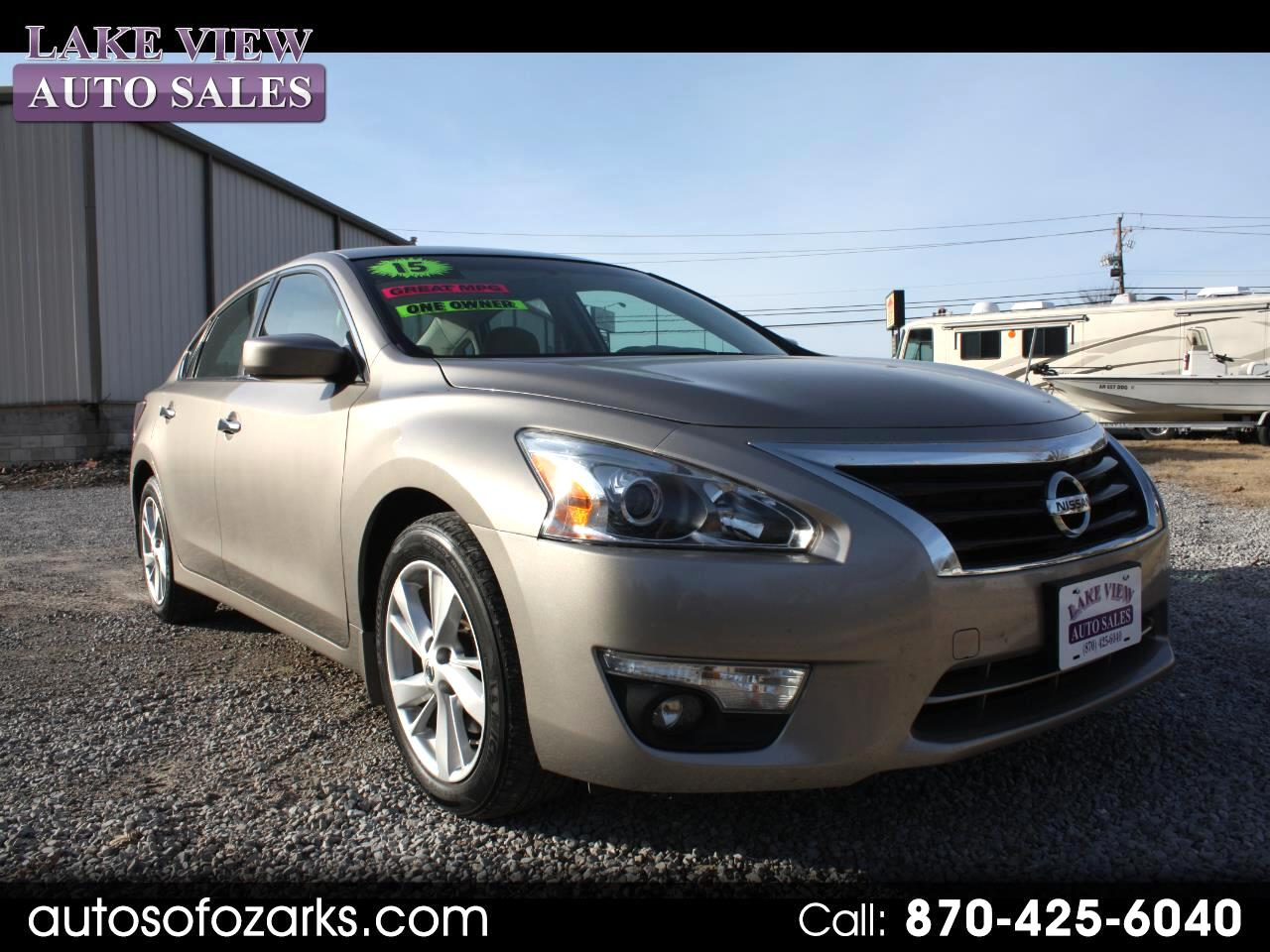 used 2015 nissan altima 2 5 sv for sale in mountain home ar 72653 lakeview auto sales. Black Bedroom Furniture Sets. Home Design Ideas