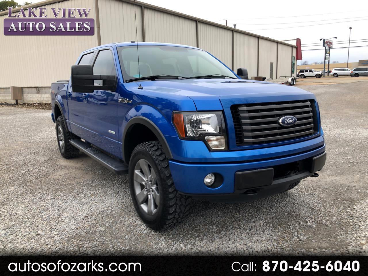 """2011 Ford F-150 4WD SuperCrew 150"""" FX4"""