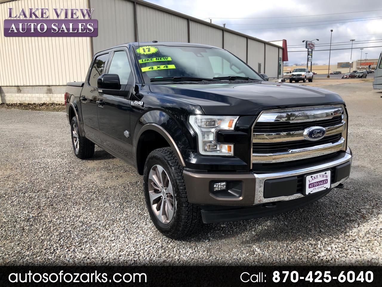 2017 Ford F-150 King-Ranch SuperCrew 5.5-ft. Bed 4WD