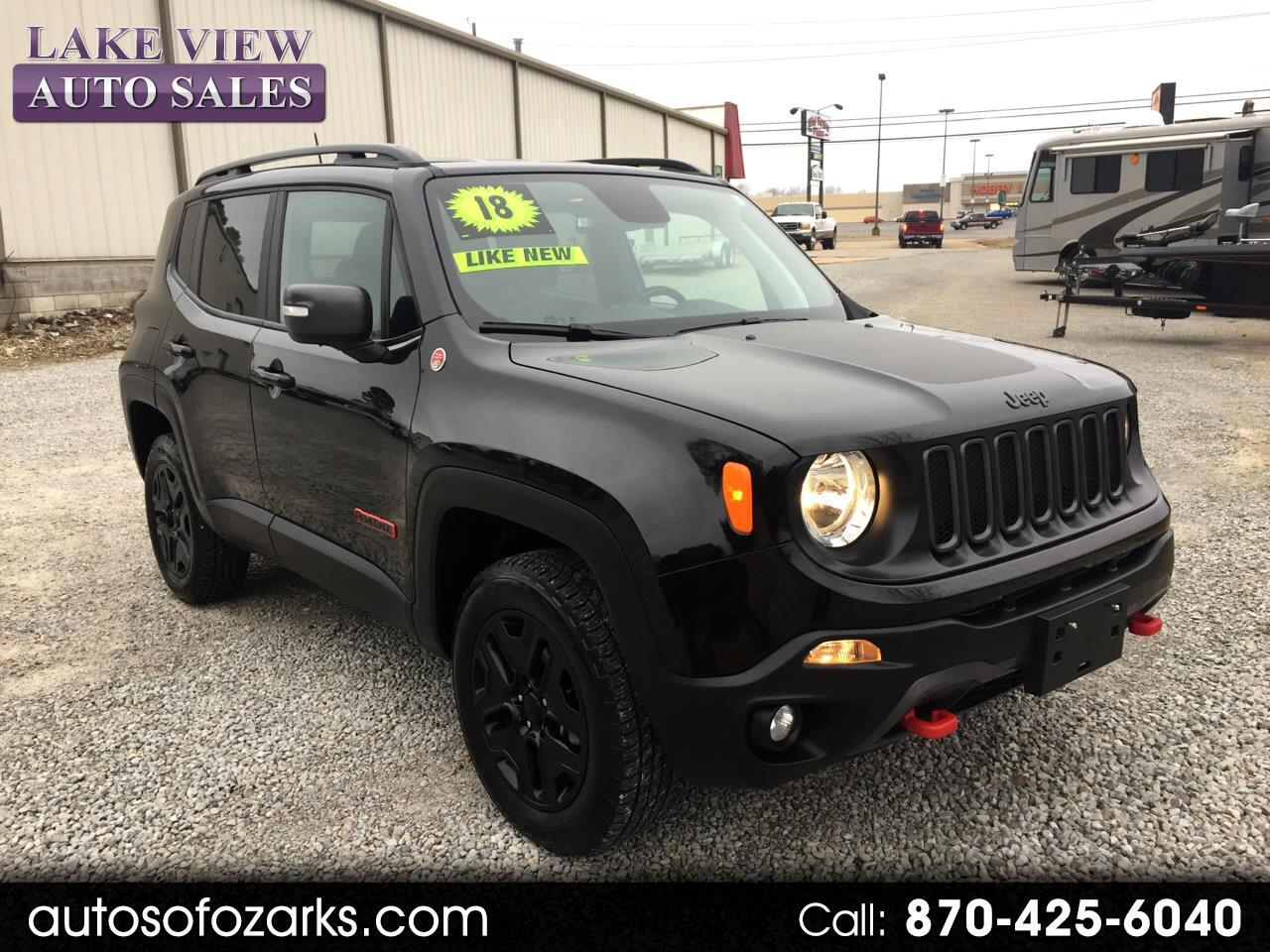 2018 Jeep Renegade Trailhawk 4x4