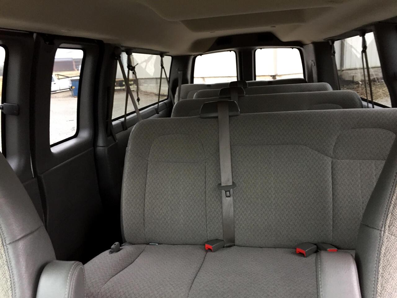 2017 Chevrolet Express RWD 3500 155