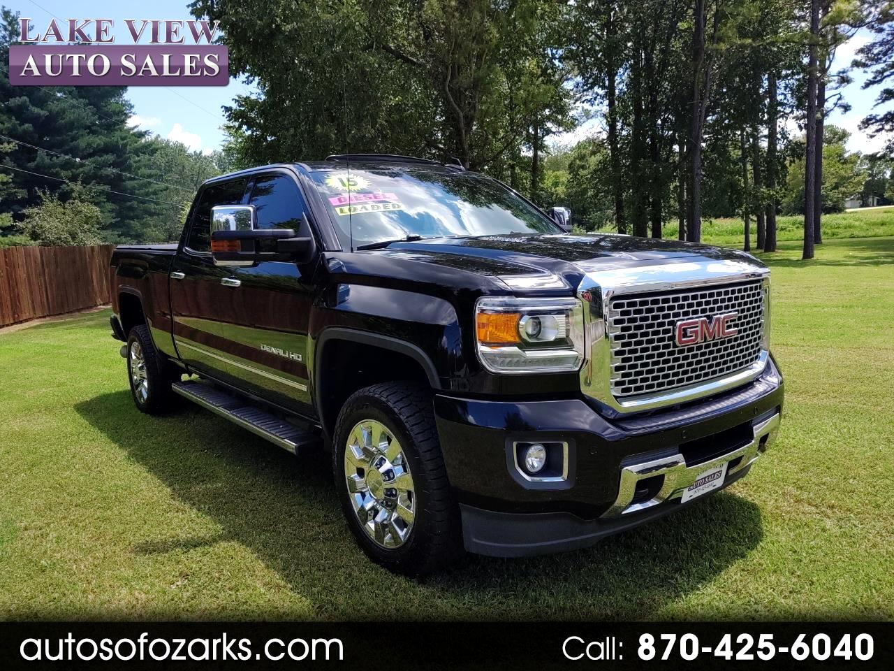 "2015 GMC Sierra 2500HD available WiFi 4WD Crew Cab 153.7"" Denali"