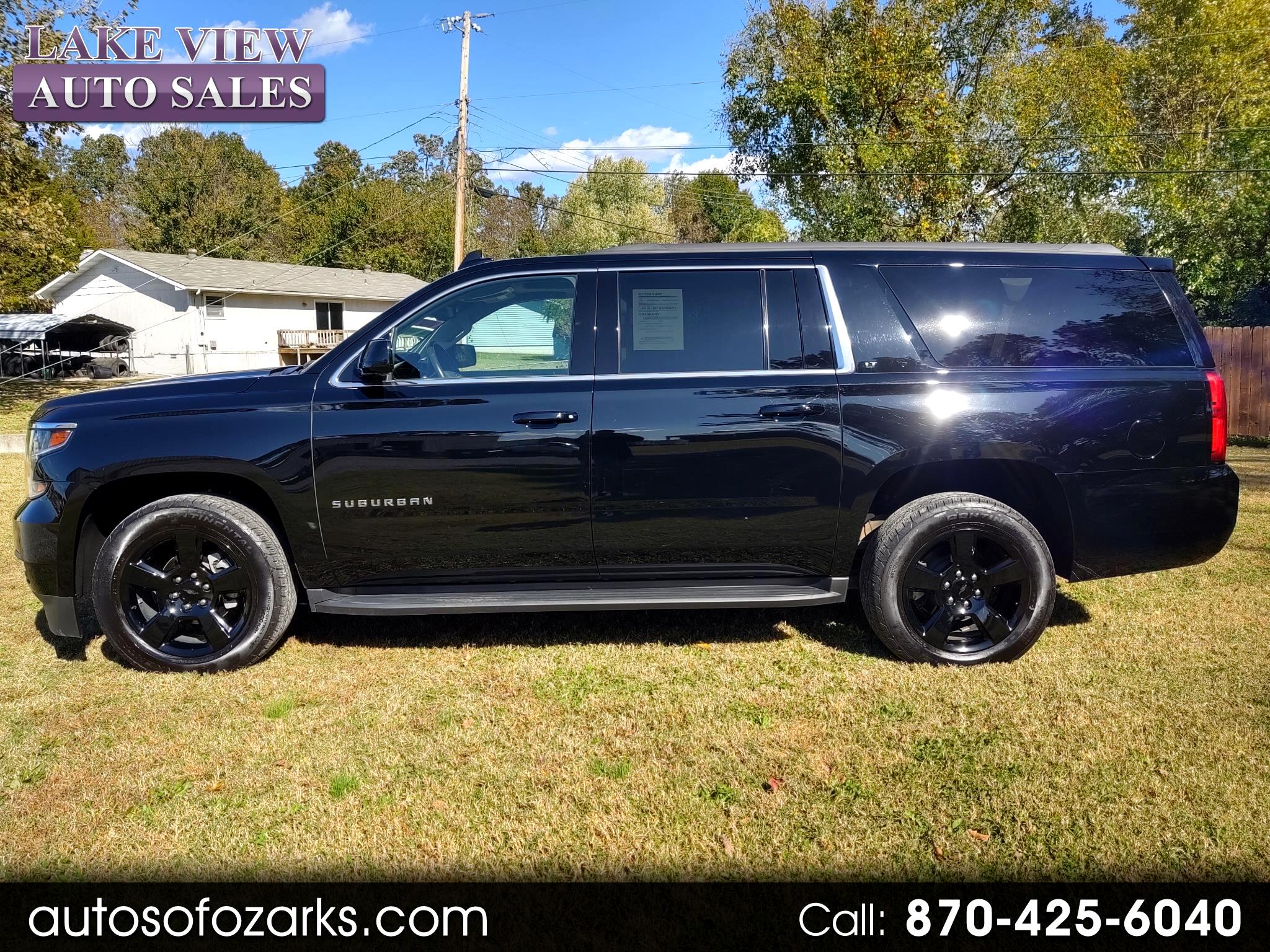 Chevrolet Suburban 4WD 4dr 1500 LT 2018