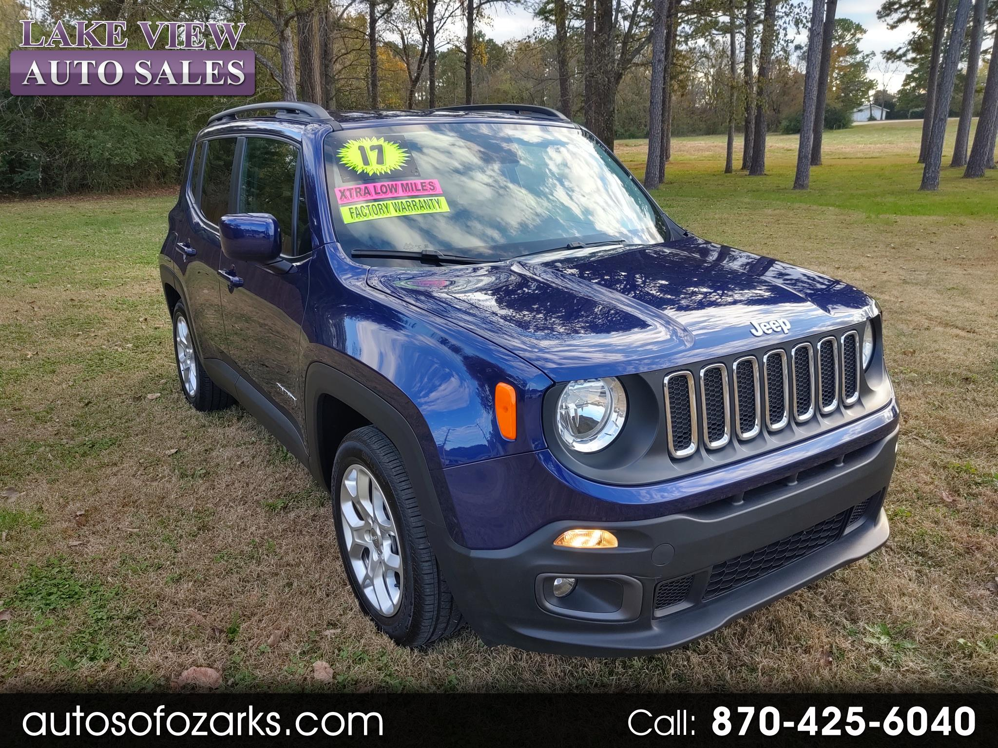 Jeep Renegade Latitude FWD 2017