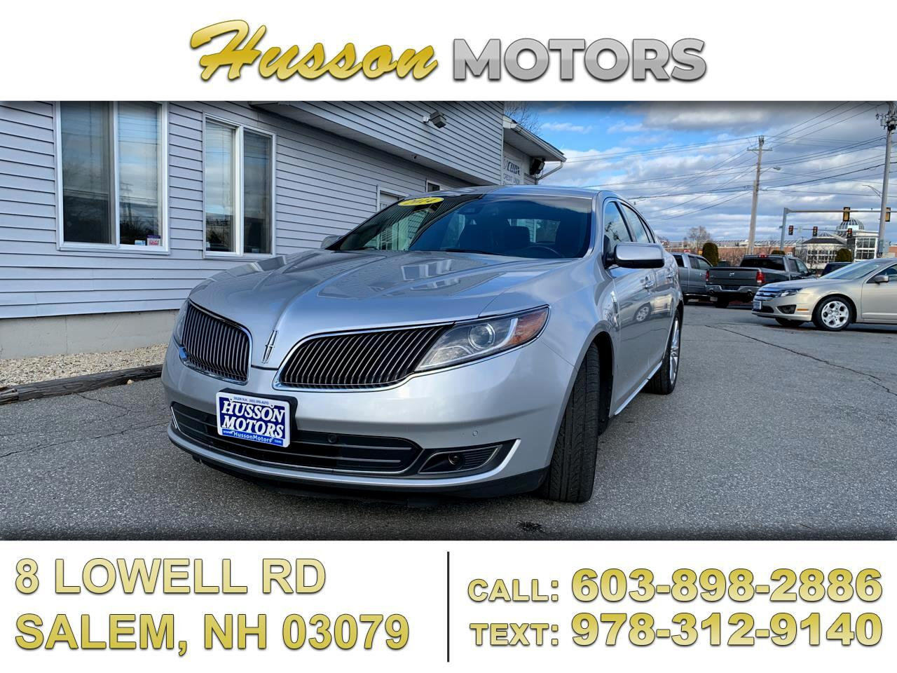 Lincoln MKS EcoBoost AWD 2014