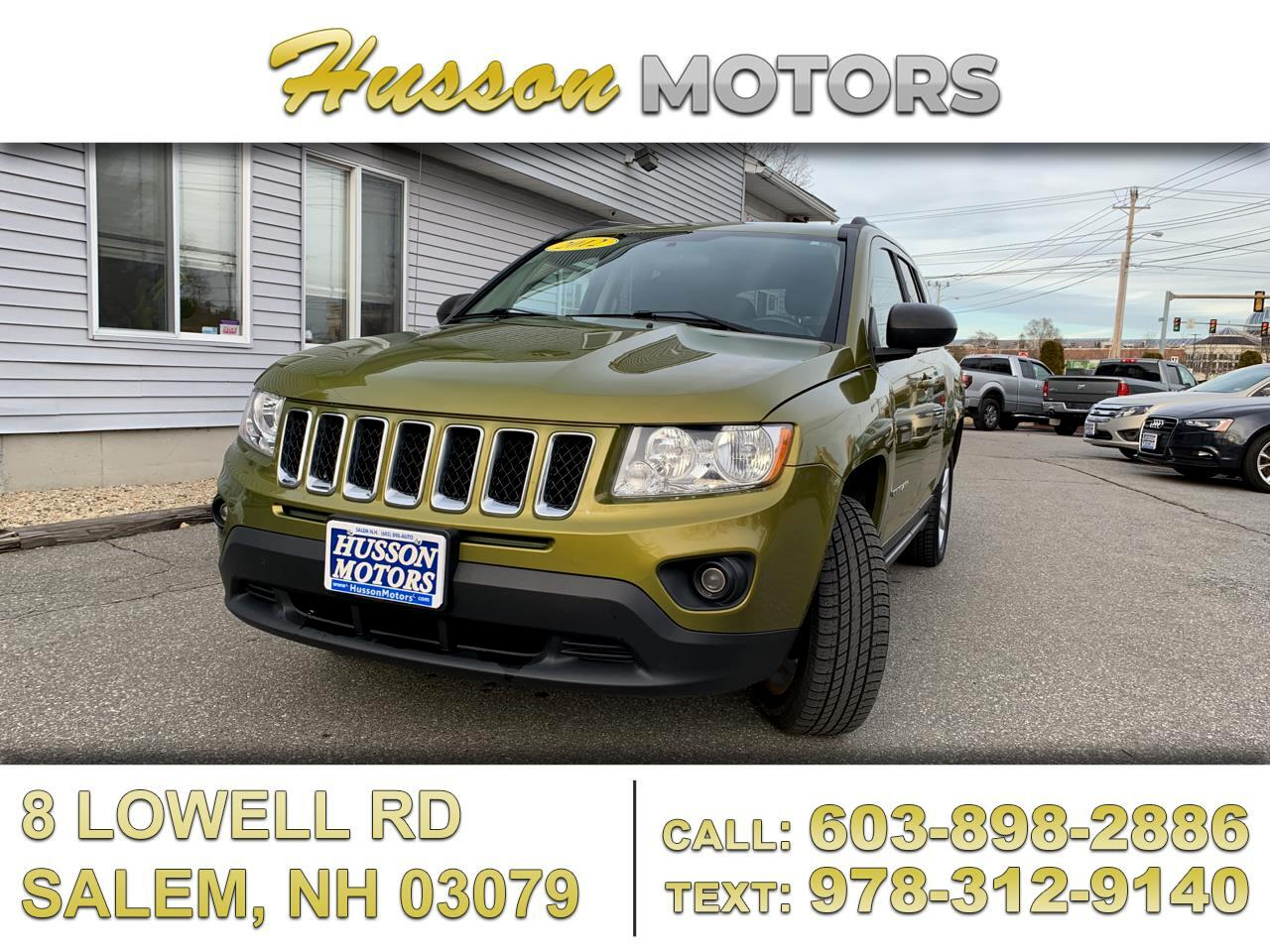 Jeep Compass Latitude 4WD 2012