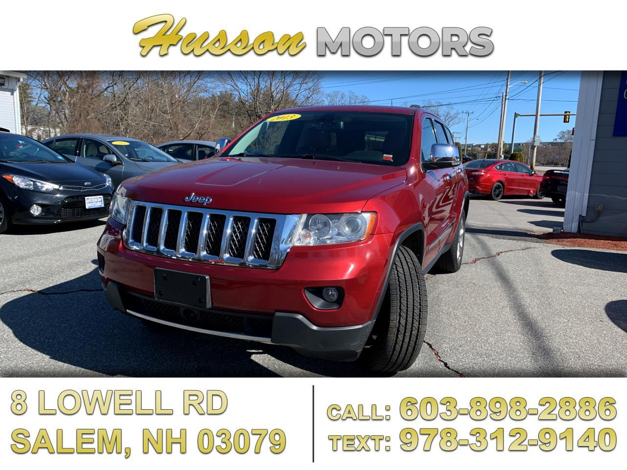 Jeep Grand Cherokee Overland 4WD 2013