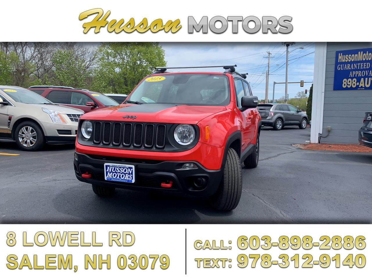 Jeep Renegade Trailhawk 4WD 2015