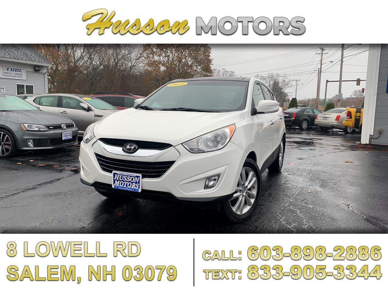 Hyundai Tucson Limited AWD 2013