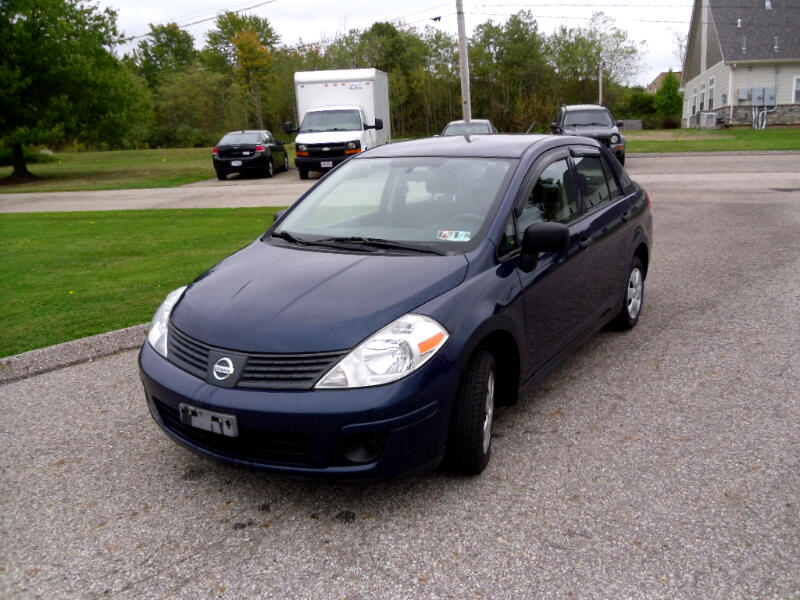 2010 Nissan Versa 1.6 Base Sedan
