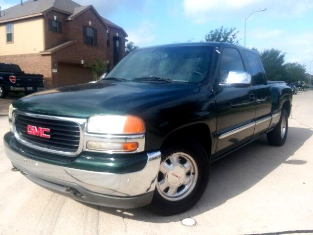 2001 GMC Sierra 1500 SL Ext. Cab Short Bed 2WD
