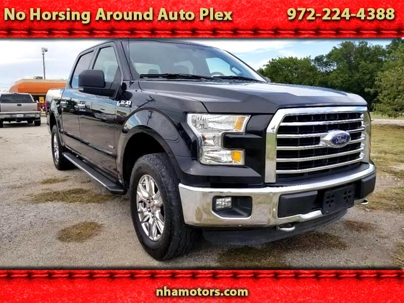"2015 Ford F-150 4WD SuperCrew 139"" XLT"