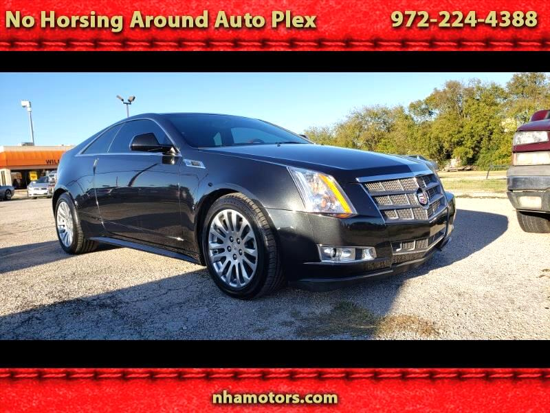 2011 Cadillac CTS Premium AWD Coupe with Navigation
