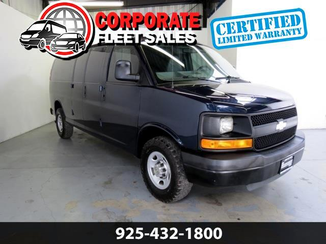 Chevrolet Express 3500 Cargo Extended 2011