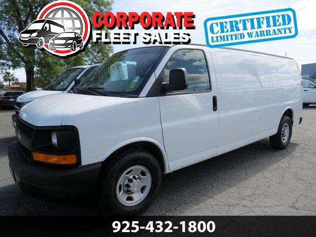 Chevrolet Express 3500 Cargo Extended 2015