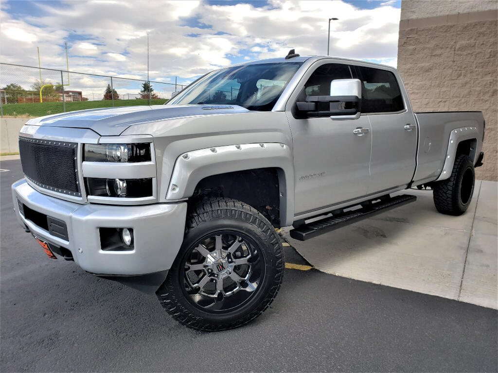 2016 Chevrolet Silverado 3500HD LTZ Crew Cab Long Box 4WD