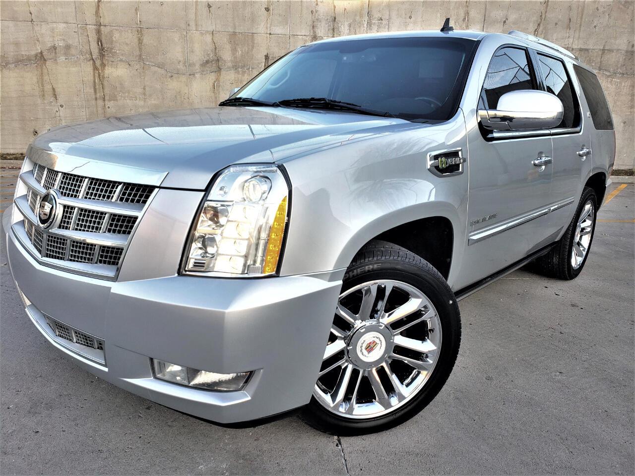 2012 Cadillac Escalade Hybrid 4WD 4dr Platinum